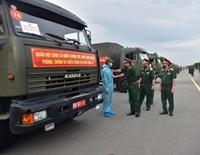 Quân khu 9 tiếp tục gửi tặng 50 tấn nông sản cho người dân TP Hồ Chí Minh