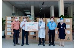 Tập đoàn Hưng Thịnh hỗ trợ trang thiết bị y tế với kinh phí gần 2 tỉ đồng cho Bệnh viện Nhân Dân 115 và Gia Định
