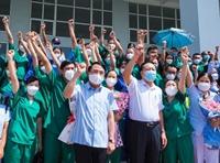 70 cán bộ y tế TP Hải Phòng lên đường hỗ trợ TP Hồ Chí Minh chống dịch
