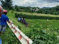 Hai công nhân tử nạn khi thi công đường dây điện bị hư hỏng