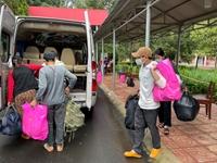 Chuyến xe tình nghĩa từ Đắk Lắk đưa nhóm thợ hồ trở về quê Nghệ An