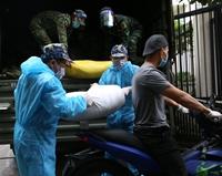 Bộ Tư lệnh Vùng 1 Hải quân trao tặng 10 tấn gạo đến nhân dân TP HCM