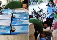 Phát hiện, tạm giữ hơn 13 000 khẩu trang y tế không rõ nguồn gốc