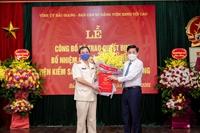 Trao quyết định bổ nhiệm Viện trưởng VKSND tỉnh Bắc Giang
