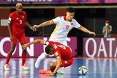 Futsal Việt Nam - CH Séc Tìm vé đi tiếp ở World Cup