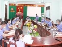 VKSND tỉnh Bình Phước tổ chức Hội nghị giao ban trực tuyến 9 tháng năm 2021
