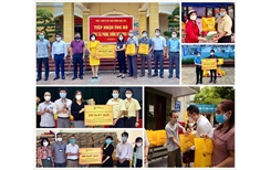 T T Group trao tặng 3 000 suất quà cho người dân Hà Nội gặp khó khăn do COVID-19