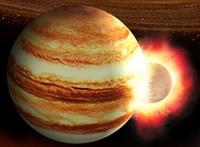 Khoảnh khắc hiếm hoi một thiên thể đâm vào Sao Mộc