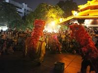 Xử phạt nhóm thanh niên múa lân sư rồng đêm Trung thu