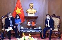 Việt Nam - Nhật Bản Tăng cường hợp tác trong lĩnh vực tư pháp và pháp luật