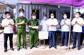 Thái Nguyên Chủ tịch UBND tỉnh kiểm tra, động viên chốt kiểm soát phòng, chống dịch COVID-19