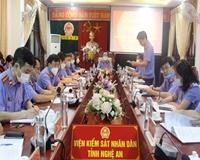 VKSND tỉnh Nghệ An Hoàn thành nhiệm vụ kép 9 tháng đầu năm 2021