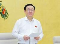 Chủ tịch Quốc hội Vương Đình Huệ Việc quản lý, sử dụng đất còn phải tính cho cả tương lai