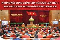 Những nội dung chính của Hội nghị lần thứ tư Ban Chấp hành Trung ương Đảng khóa XIII