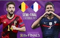 ĐT Bỉ - ĐT Pháp  Trận bán kết đáng mong đợi ở bán kết Nations League