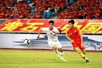Đội tuyển Việt Nam gặp đội tuyển Trung Quốc Trận đấu lịch sử