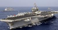 Kỳ lạ Hải quân Mỹ thanh lý 2 siêu tàu sân bay với giá 2 xu