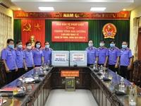 Báo Bảo vệ pháp luật được Viện trưởng VKSND tối cao tặng Bằng khen