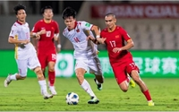 Nhìn lại trận thua giữa đội tuyển bóng đá Việt Nam – Trung Quốc