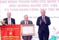 Chủ tịch nước trao danh hiệu Anh hùng cho Đoàn Thanh niên cứu quốc Thành Hoàng Diệu