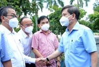 Viện trưởng VKSND tối cao Lê Minh Trí tiếp xúc cử tri TP Hồ Chí Minh