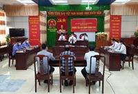 VKSND tỉnh Bình Định tổ chức phiên tòa hình sự giả định có tính chất nâng cao