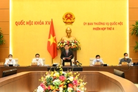 Khai mạc phiên họp thứ 4 Uỷ ban Thường vụ Quốc hội