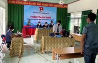 Tổ chức phiên tòa giả định tuyên truyền về tác hại của ma túy tại xã vùng biên