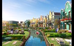 """Không gian nghỉ dưỡng độc đáo tại """"ngôi làng"""" biệt thự cạnh kênh đào Lagoon - NovaWorld Ho Tram"""