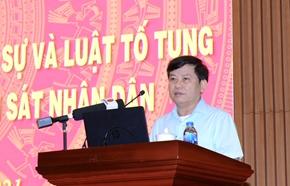 Sơ kết 5 năm thi hành Bộ luật TTDS và Luật TTHC trong ngành Kiểm sát nhân dân