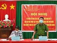 Phú Quốc Xử lý nghiêm các vụ việc liên quan đến lấn chiếm đất rừng