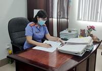VKSND TP Tân An kiến nghị khắc phục vi phạm trong việc cung cấp tài liệu, chứng cứ