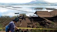 Động đất rung chuyển đảo du lịch nổi tiếng Bali, Indonesia, nhiều nhà cửa đổ sập