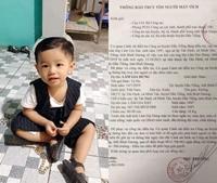 Tìm kiếm bé trai 2 tuổi mất tích bí ẩn trước cửa nhà
