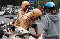 Hà Nội 23 trường hợp vi phạm Luật Giao Thông đường bộ bị phát hiện, xử lý trong ngày 17 10