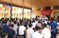 Vụ hàng trăm người tập trung đấu giá đất giữa mùa dịch Chính quyền huyện Bình Giang vẫn né trách nhiệm