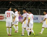 Văn Đạt lập cú đúp, U23 Việt Nam thắng đậm U23 Kyrgyzstan