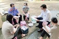 VKSND TP Phú Quốc tham gia kiểm sát hoạt động tiêu hủy vật chứng
