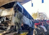 Khủng bố đánh bom thảm sát 14 binh sĩ quân đội Syria