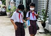 Những học sinh đầu tiên ở TP HCM được đến trường học trực tiếp