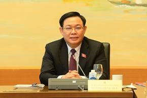Chủ tịch Quốc hội Vương Đình Huệ Thí điểm cơ chế, chính sách đặc thù cho một số địa phương vì mục tiêu chung cho quản trị quốc gia