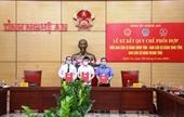 TAND tỉnh Nghệ An thực hiện có hiệu quả mục tiêu kép