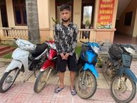 Siêu trộm xe máy ở huyện Quỳ Châu là con nghiện ma túy