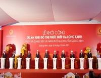 Khởi công Khu đô thị Hạ Long Xanh với tổng mức đầu tư hơn 232 nghìn tỉ đồng