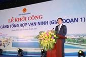 Quảng Ninh khởi công Bến cảng tổng hợp Vạn Ninh với tổng mức đầu tư hơn 2 nghìn tỉ đồng