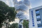 Nổ phòng thí nghiệm Trường Đại học Hàng không Vũ trụ ở Trung Quốc, 11 người thương vong