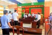 VKSND Bình Định tuyên truyền giáo dục pháp luật qua phiên tòa giả định