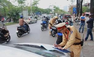 Phát hiện, xử lý 614 trường hợp vi phạm Luật Giao Thông đường bộ trong ngày 25 10
