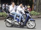 Sẽ ghi hình học sinh vi phạm luật giao thông