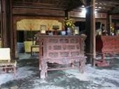 Phục chế ba án thờ có niên đại đầu tiên của triều Nguyễn